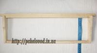 Деревянная ульевая рамка Магазин (435х145 мм)