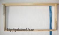 Деревянная ульевая рамка Рут (435х230 мм)