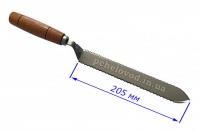 Нож зубчатый 205 мм, нерж.