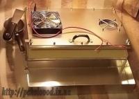 Пресс-матрица для изготовления вощины с воздушным охлаждением