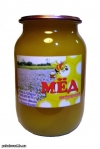 Мед натуральный, Разнотравье+Бахча, 1л