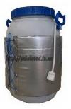 Декристаллизатор меда на пластик. бидон (30л)