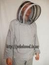 "Куртка пчеловода с маской ""Евро"". Материал: лен"