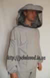 Куртка пчеловода с маской. Материал: лен с габардином
