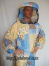 Куртка пчеловода с маской. Материал: поликоттон