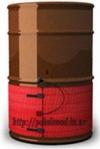 Промышленный секционный нагреватель до +70°С на бочку (200л)
