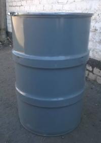 Бочка металлическая для меда, 200л (б/у)