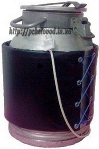 Промышленный нагреватель на бидон (40л)