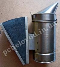 Дымарь пасечный (сталь/кожа)