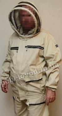 Костюм пчеловода 'Комфорт' с маской. Материал: хлопок (cotton)