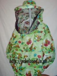 "Куртка пчеловода с маской ""Классика"". Материал: ситец"
