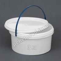 Ведро пластиковое для меда, 3л